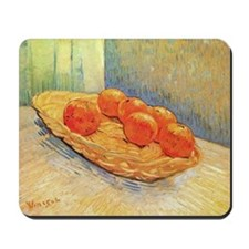 Van Gogh - Still Life with Basket and Si Mousepad