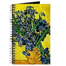 Van Gogh - Still Life with Irises Journal
