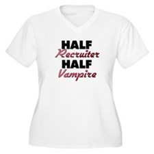 Half Recruiter Half Vampire Plus Size T-Shirt