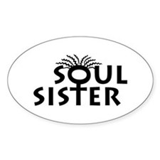 Soul Sister Oval Decal