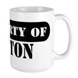 Property of Colton Mug