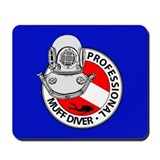 Cool Muff diver Mousepad