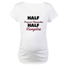 Half Program Researcher Half Vampire Shirt