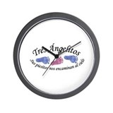 Tres Angelitos BGB Wall Clock