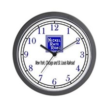 Nickel Plate Road Wall Clock