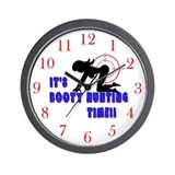 Booty Hunter Wall Clock
