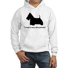 I OWN A VERY NICE PERSON Hoodie
