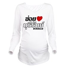 I Love (Heart) Buriram, Thailand Long Sleeve Mater