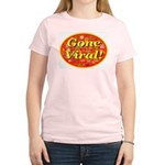 Gone Viral Women's Pink T-Shirt