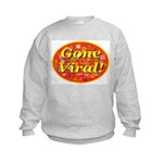 Gone Viral Kids Sweatshirt