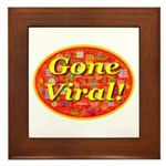 Gone Viral Framed Tile