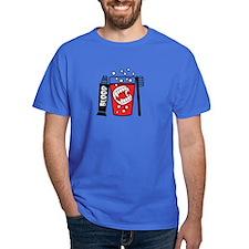 Vampire Teeh Toothbrush Blood-01 T-Shirt