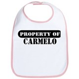 Property of Carmelo Bib