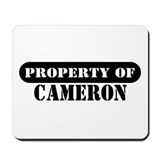 Property of Cameron Mousepad