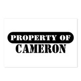 Property of Cameron Postcards (Package of 8)