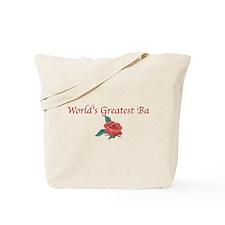 World'sGreatestBa Tote Bag