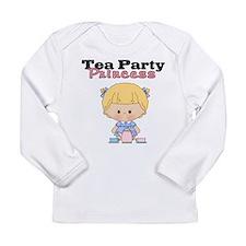 Tea Party Princess Long Sleeve T-Shirt