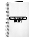 Property of Burt Journal
