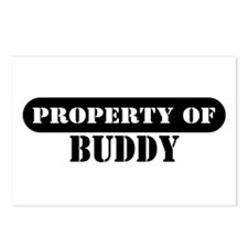 Property of Buddy Postcards (Package of 8)