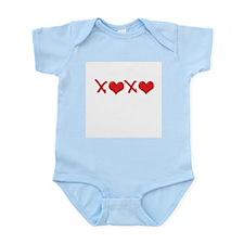Valentine XOXO Infant Bodysuit