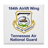 164th Airlift Wing Tile Coaster