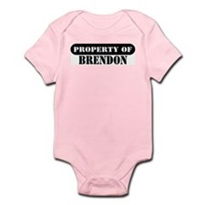 Property of Brendon Infant Bodysuit