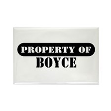 Property of Boyce Rectangle Magnet (10 pack)