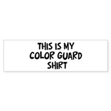 My Color Guard Bumper Bumper Sticker