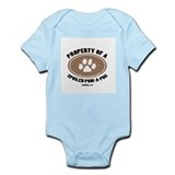 Pom-A-Pug dog Infant Bodysuit