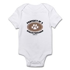 Pineranian  dog Infant Bodysuit