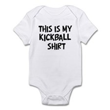 My Kickball Infant Bodysuit