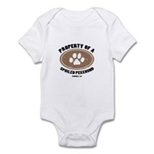 Pekehund dog Infant Bodysuit