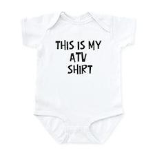 My Atv Infant Bodysuit