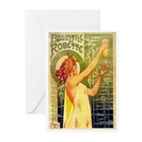 Absinthe blank Cards Greeting Cards (Pk of 10
