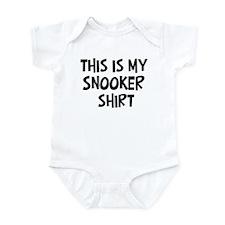 My Snooker Infant Bodysuit