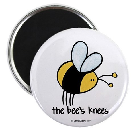 Bee Gifts > Bee Magnets > The Bee's Knees Magnet