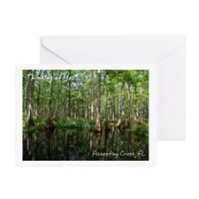 Fisheating Creek- Cypress Mir Greeting Cards (Pack
