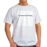 Commercial Fishing Ash Grey T-Shirt