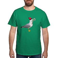 Santa Seagull T-Shirt
