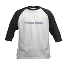 Offshore Fishing - text Tee
