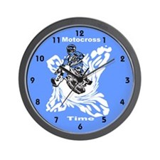 Motocross Gifts Wall Clock