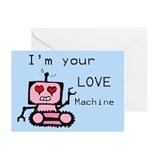 I Valentine's Robot Greeting Cards (Pk of 10