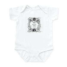 100% Authentic Stampin' Diva Infant Bodysuit