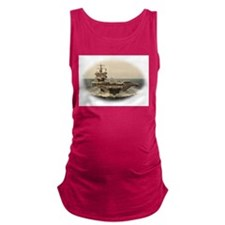 USS Enterprise Maternity Tank Top