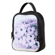 Unique Hydrangea decor Neoprene Lunch Bag