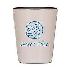 water tribe symbol Shot Glass