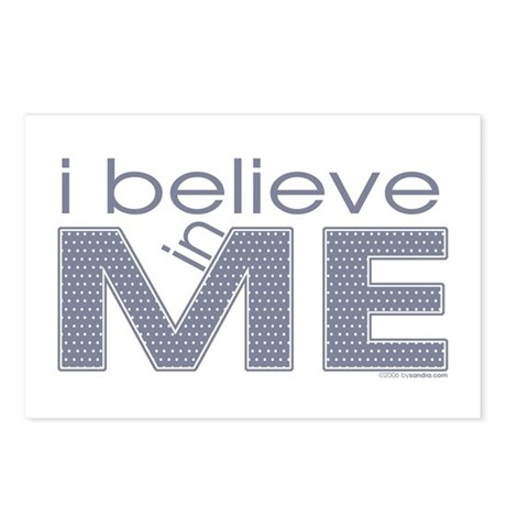 I believe in me Postcards (Package of 8)