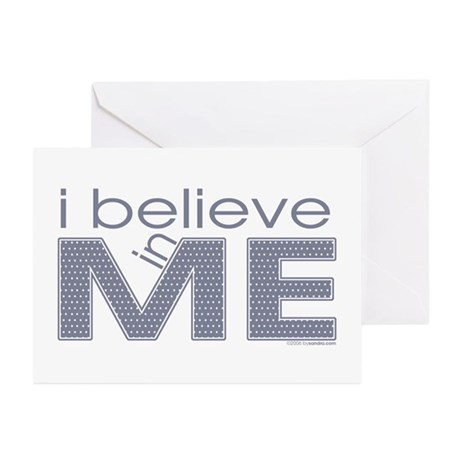I believe in me Greeting Cards (Pk of 10)