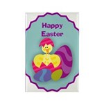 EASTER EGG Rectangle Magnet