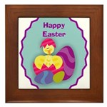 EASTER EGG Framed Tile